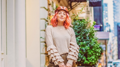 One Writer Tries to Make 2019's Major Ruffles Trend Actually Wearable | StyleCaster