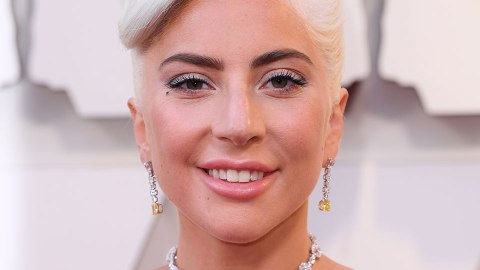 Lady Gaga's Hairstyle is Full of Twists and Turns at the 2019 Oscars | StyleCaster
