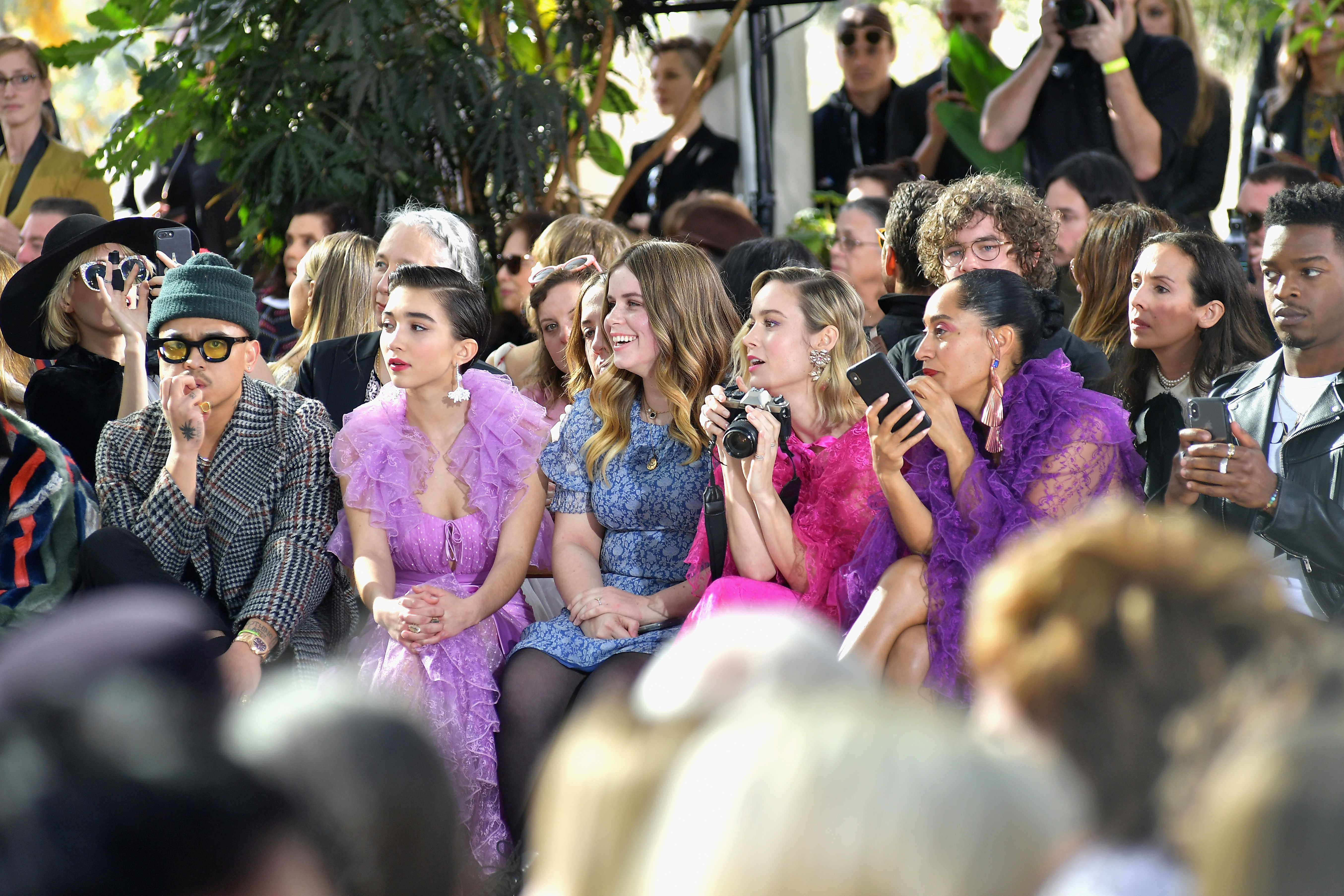 Tracee Ellis Ross, Brie Larson and Rowan Blanchard Were Squad Goals at the Rodarte Show