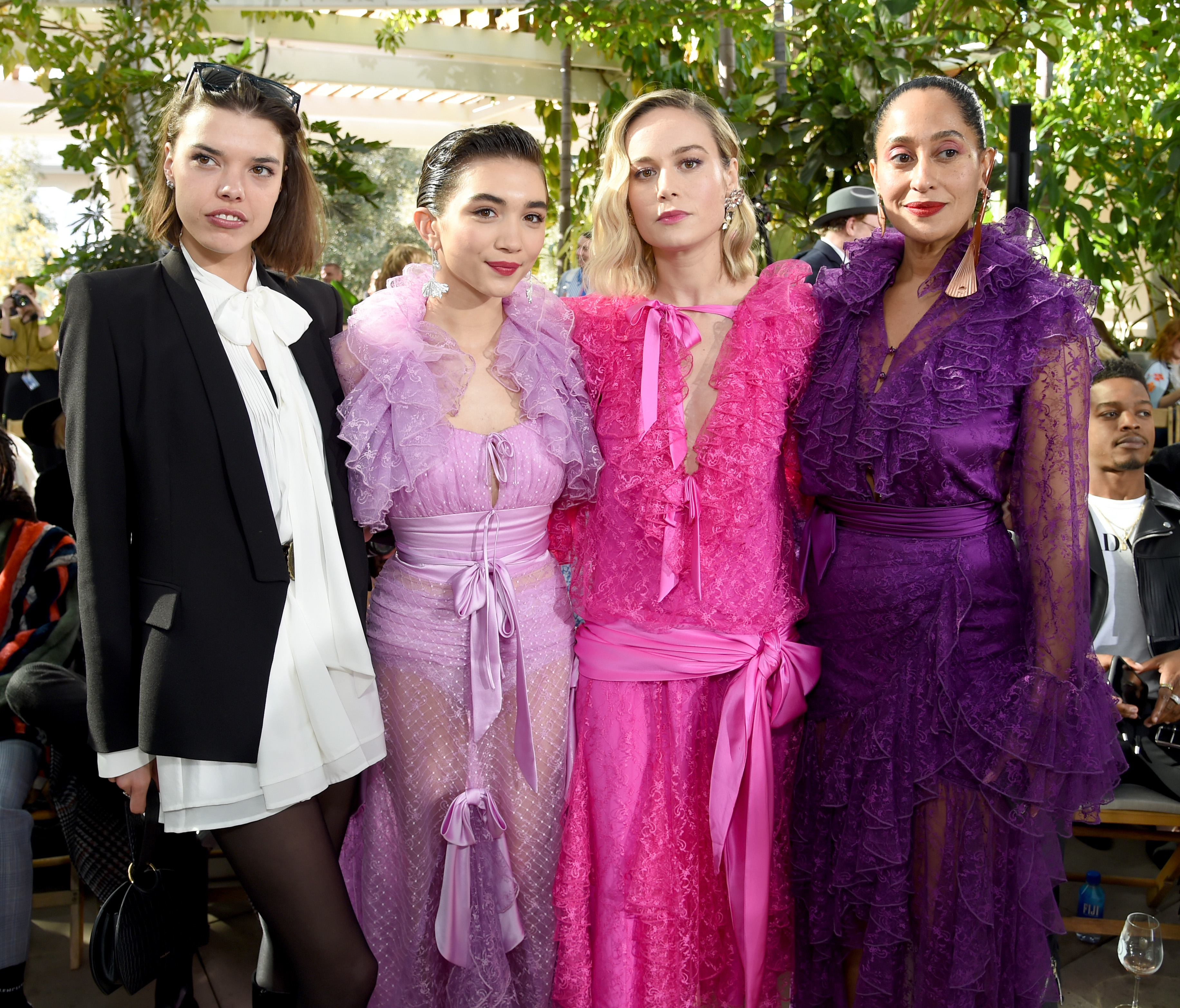 gettyimages 1094179482 Tracee Ellis Ross, Brie Larson and Rowan Blanchard Were Squad Goals at the Rodarte Show