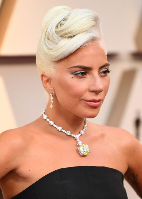 Lady Gaga Oscars 2019 Hair Is Full Of Twists And Turns Stylecaster