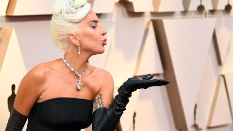 Lady Gaga Helped Launch a Beauty Product While Winning Her Oscar | StyleCaster