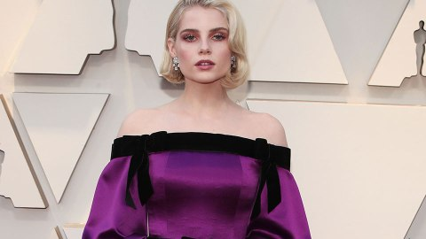 Lucy Boynton's Eye Makeup at the 2019 Oscars Deserves a Closeup | StyleCaster