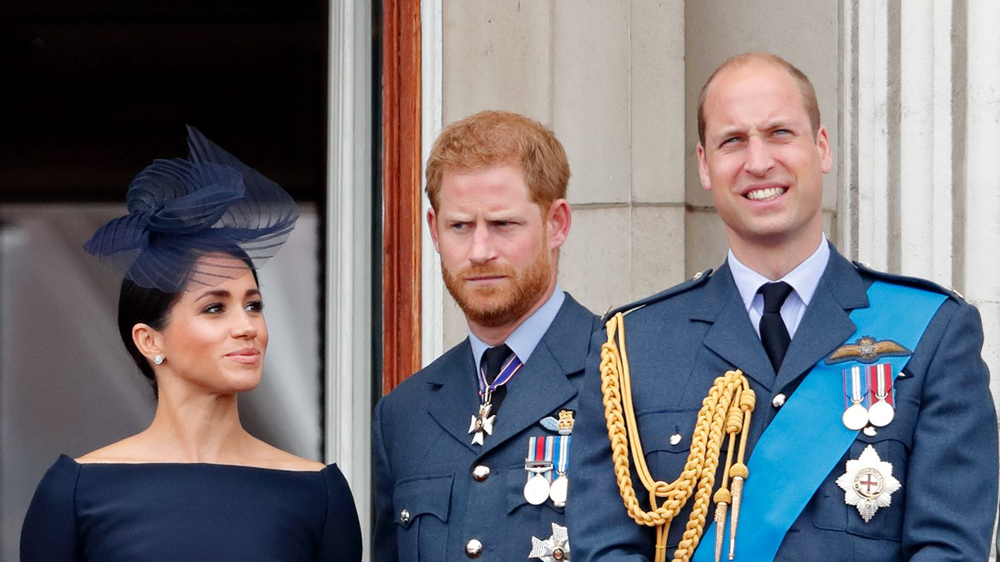 Meghan Markle, Prince Harry, and Prince William