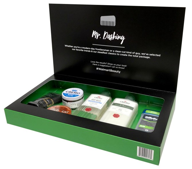 mr dashing open You'll Be Surprised by the Brands Included in Walmart's New Beauty Boxes