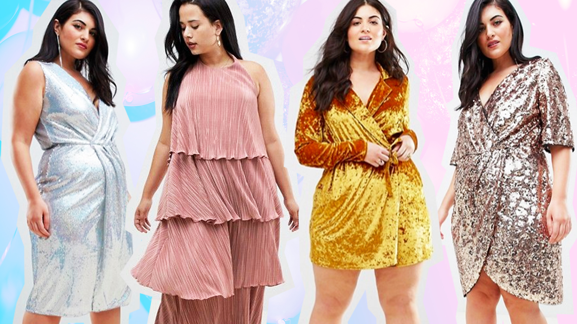 19 Plus-Size Party Dresses to Score on Sale Right Freakin' Now