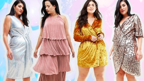 19 Plus-Size Party Dresses to Score on Sale Right Freakin' Now | StyleCaster