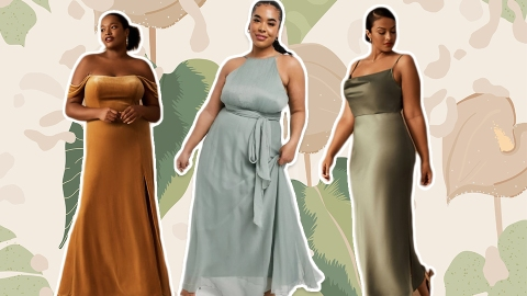 9 Plus-Size Bridesmaid Dresses That Will Make You Look (Almost) As Hot as the Bride | StyleCaster