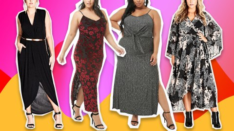 Discounted Plus-Size Winter Maxi Dresses So Cute, You'll Wonder Why They're on Sale | StyleCaster