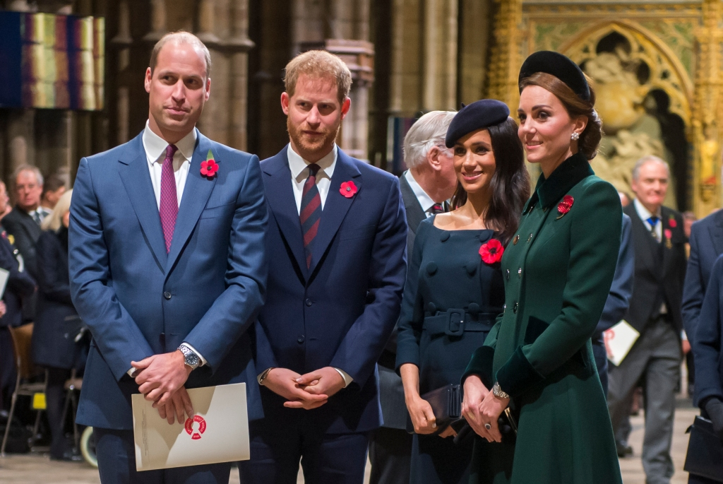 Prince William, Prince Harry, Meghan Markle, Kate Middleton
