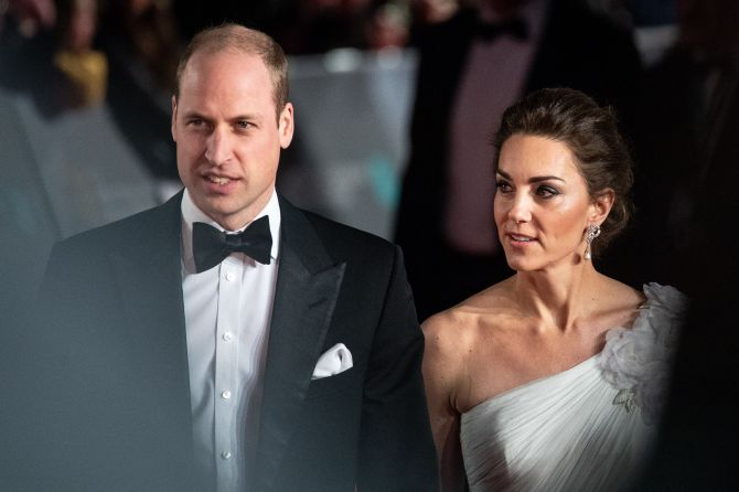 prince william princess kate baftas2 Forget Prince Harry, Prince William Had Some Wild Teen Years Of His Own