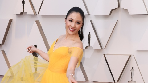 Constance Wu Looks Like a Hyper-Chic Disney Princess at the 2019 Oscars | StyleCaster