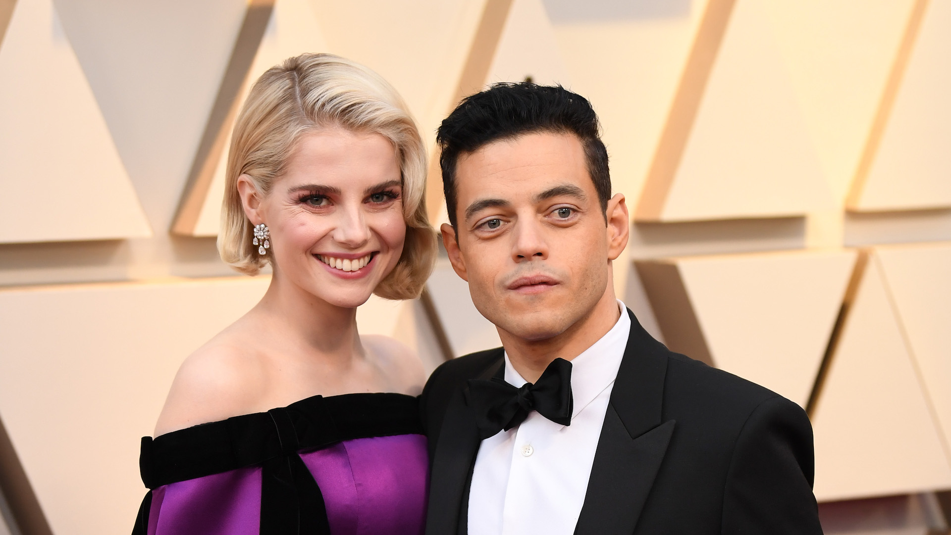Lucy Boynton's Oscars Look Will Inspire You to Whip Out Your Favorite Off-the-Shoulder Pieces