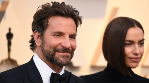 Bradley Cooper & Irina Shayk Showed Rare PDA at the Oscars | StyleCaster