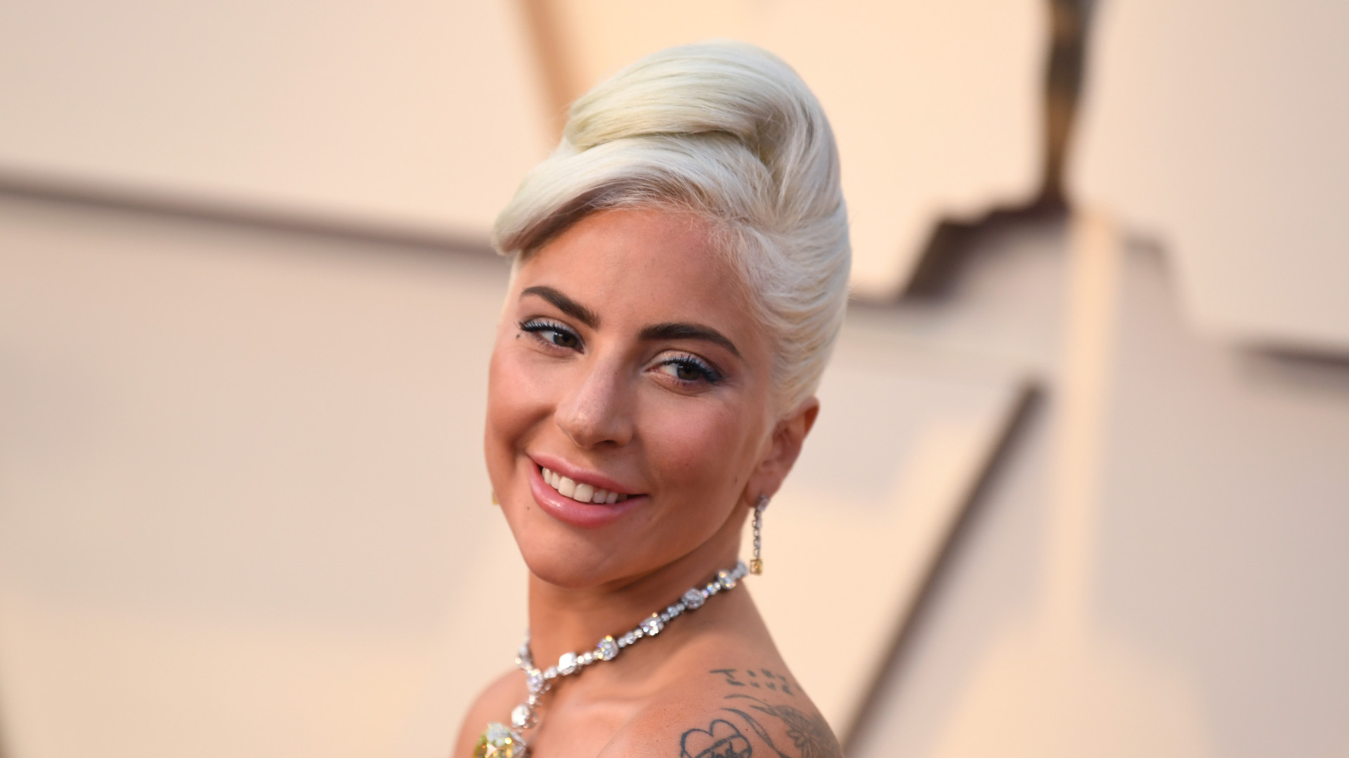 Lady Gaga's Oscars Look Was Sheer Old Hollywood Glamour—with a Twist