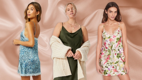 16 Slinky Slip Dresses You Can Rock Outside The Bedroom | StyleCaster