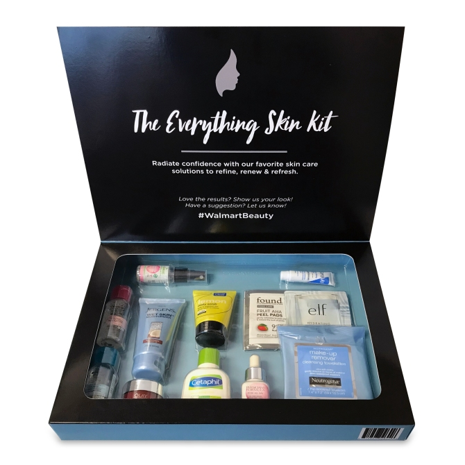 walmart beauty box the everything skin kit stylecaste You'll Be Surprised by the Brands Included in Walmart's New Beauty Boxes