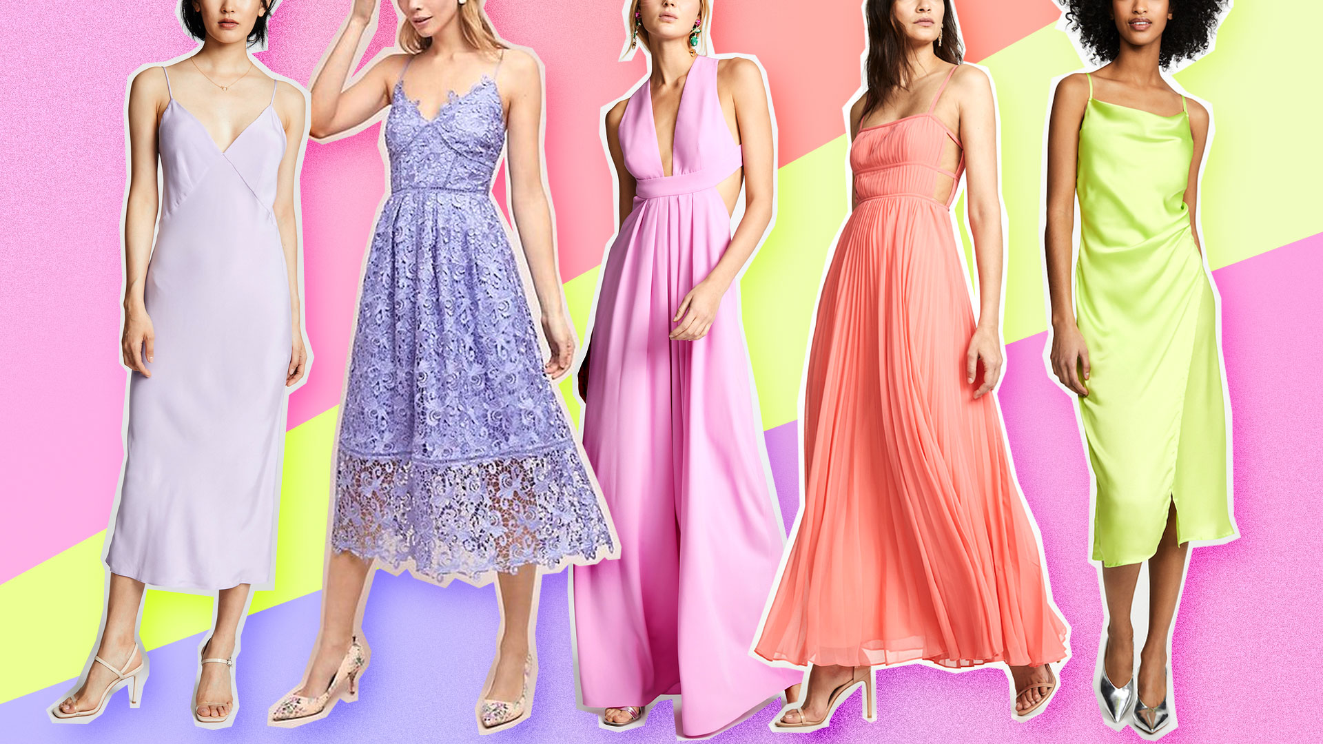 34 Pastel Bridesmaid Dresses Perfect for Warm-Weather Weddings