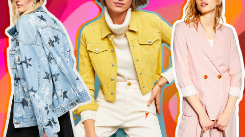 33 Cute Spring Jackets That Are Breezy Enough to Wear in the Heat | StyleCaster