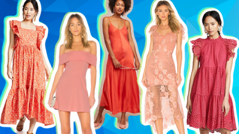 Coral Bridesmaid Dresses Are a Spring/Summer Classic | StyleCaster