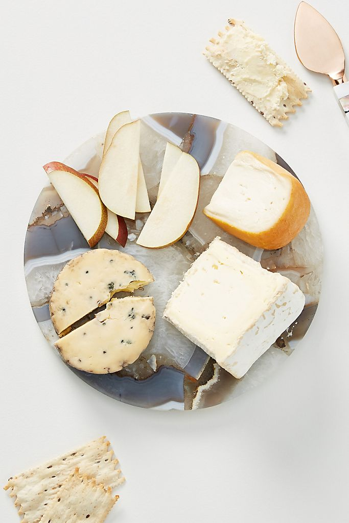 Quincy Composite Agate Cheese Board