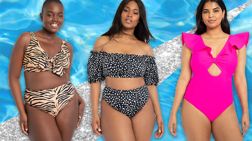 23 Cute Plus-Size Swimsuits to Get You Poolside Ready
