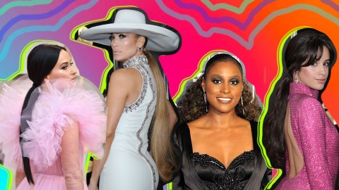 These Celebs Are Proof That the Low Ponytail Can Actually Be Versatile | StyleCaster