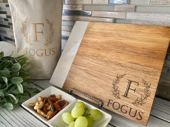 Cheese Board Personalized