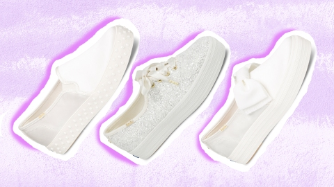 Keds and Kate Spade Just Joined Together to Create the Cutest Wedding Sneaker Collection | StyleCaster