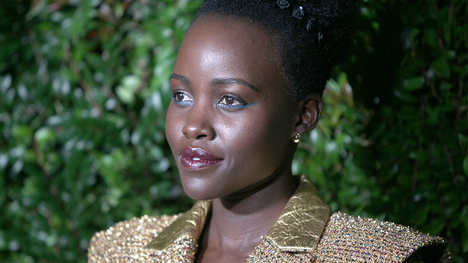 Lupita Nyong'o is Owning Her 'Us' Press Tour in These Scary Good Beauty Looks