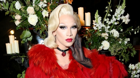 Drag Artist Miss Fame Launched a Stunning Collab With Sleek Makeup   StyleCaster