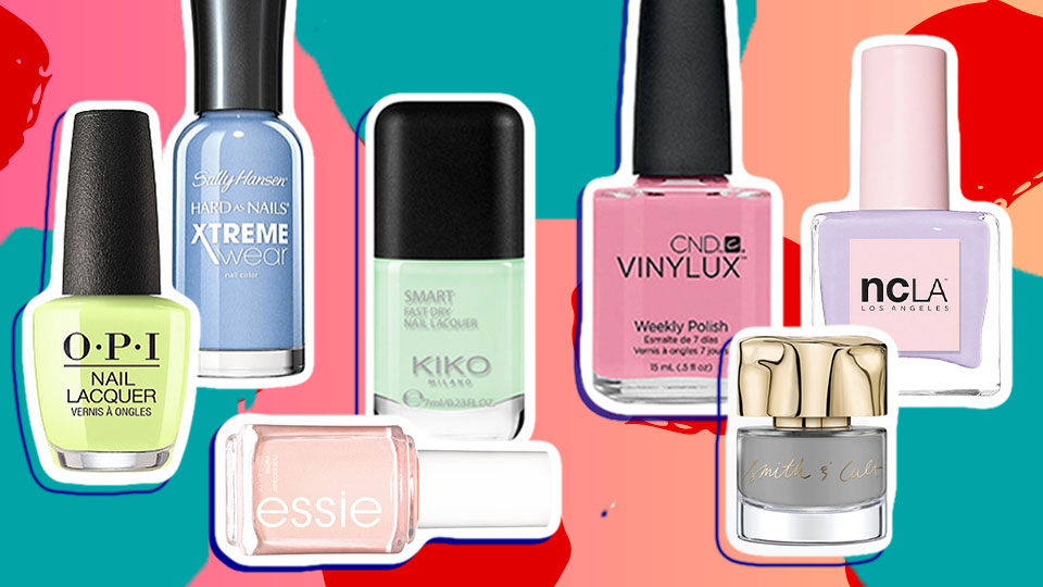 15 of the Prettiest and Pristine Pastel Nail Colors to Start Test-Driving for Spring