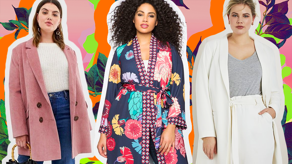 23 Plus-Size Spring Coats So Cute, You'll Wish It Would Stay Cold Forever