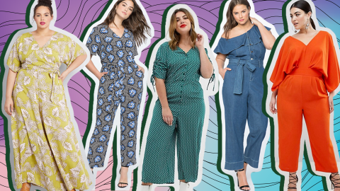 29 Plus-Size Jumpsuits to Shop, Because Spring Really Is Coming | StyleCaster