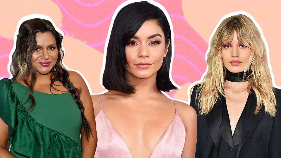 29 Ultra-Chic, Celebrity-Approved Hairstyles That Perfectly Compliment Round Faces