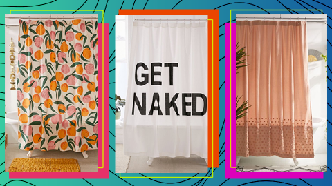 13 Shower Curtains to Shop, Because Your Bathroom Deserves an Upgrade, Doesn't It? | StyleCaster