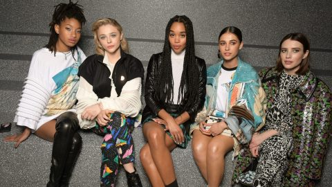 Front Row at Louis Vuitton's PFW Show Was Brimming with Incredible Celebrity Looks | StyleCaster