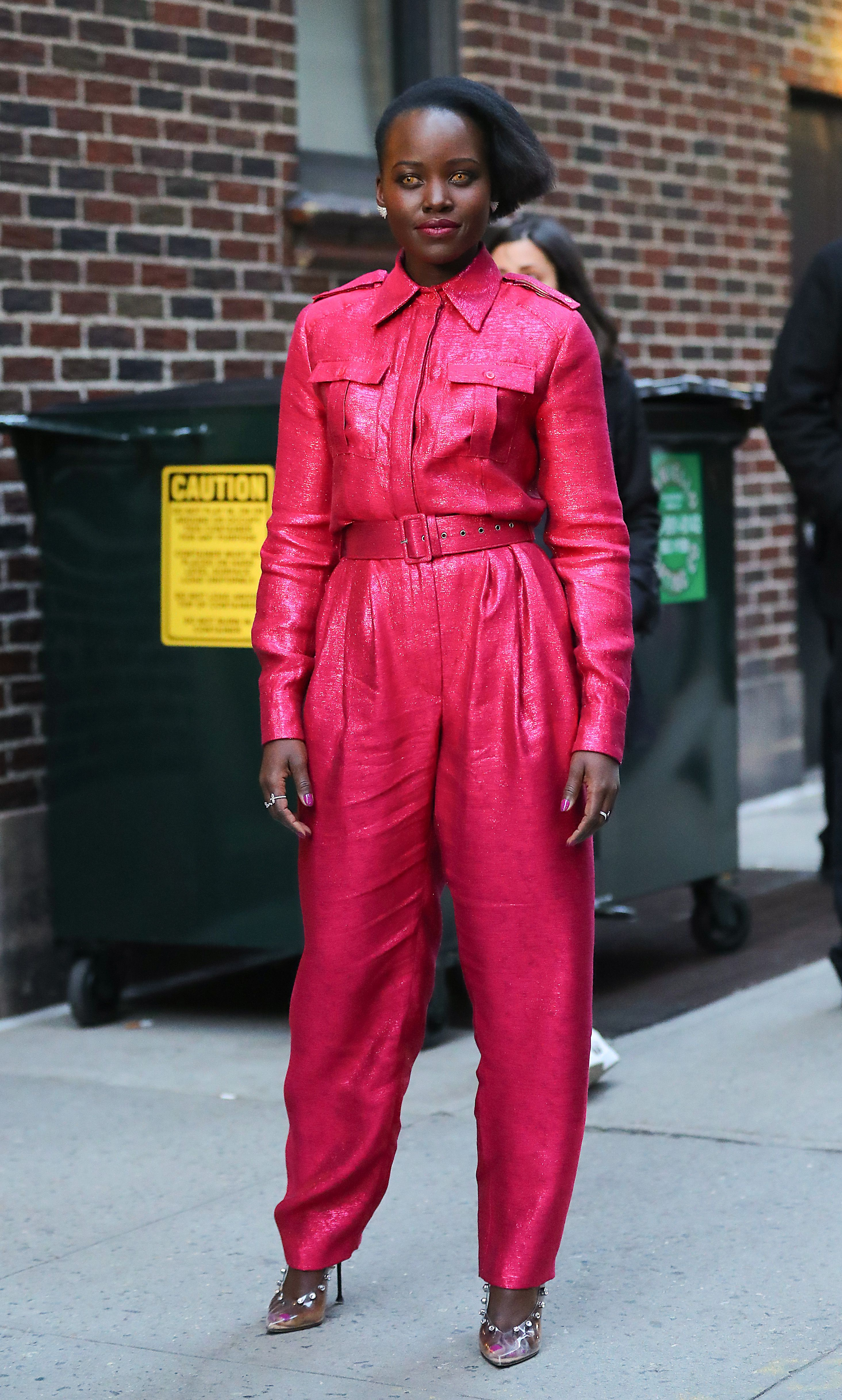 shutterstock 10159652f Lupita Nyong'o's Latest Ensemble Is So Cute It's Literally Improving My Mood