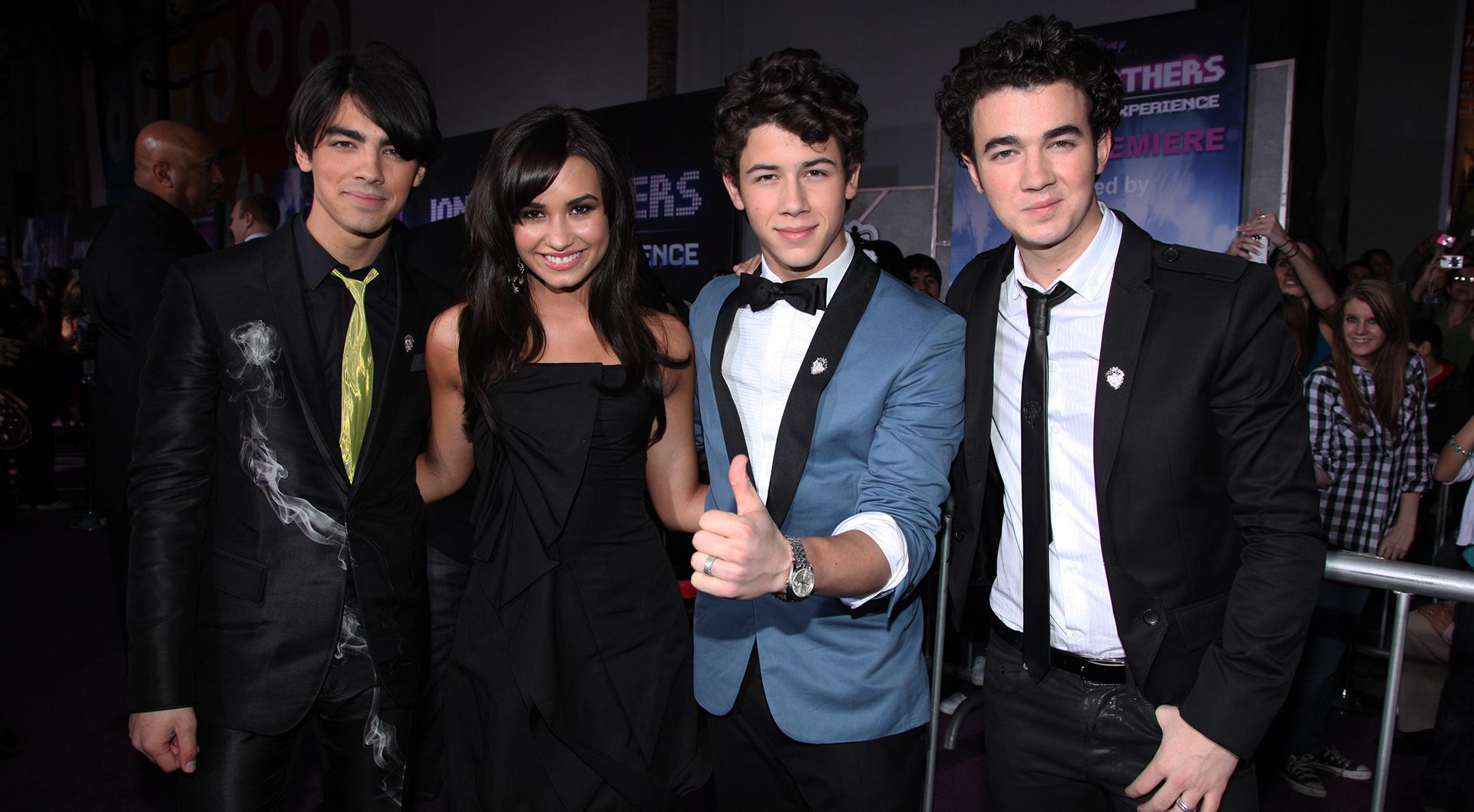 Jonas Brothers and Demi Lovato