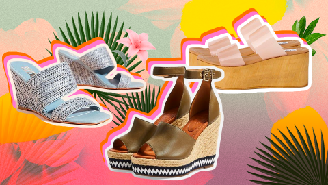Spring Wedges to Shop, Because Who Doesn't Love Spring Wedges? | StyleCaster