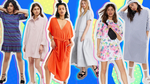33 Casual Spring Dresses So Comfy You'll Want to Live in Them   StyleCaster