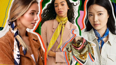 Spring Scarves Are Definitely a Thing, and Honestly, I Want Them All | StyleCaster