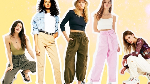 Utility Pants Might Be the Comfiest (and Most Wearable) Trend on the Market Right Now | StyleCaster