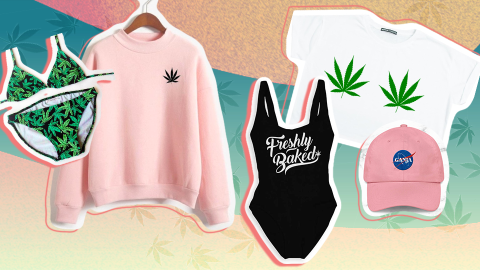 Actually Cute Weed Clothing to Wear While You Celebrate 4/20 | StyleCaster