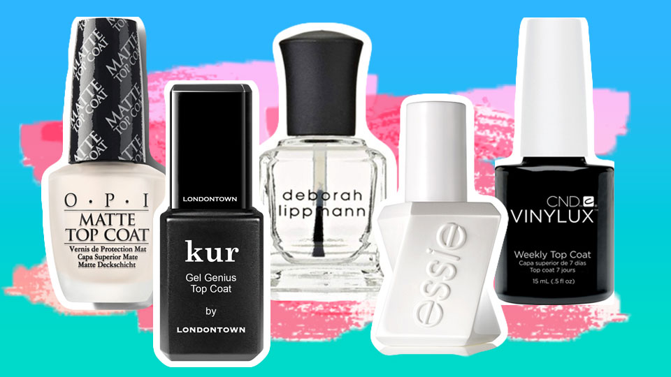 10 Top Coats That Promise to At Least Delay the Arrival of Chipped Polish