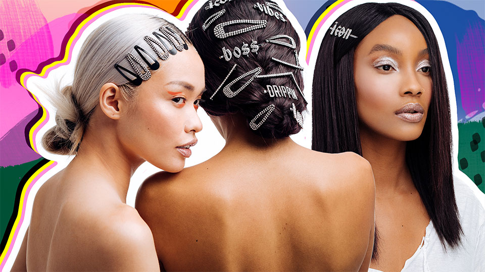 Tell Them How You Really Feel With These Statement Hair Accessories