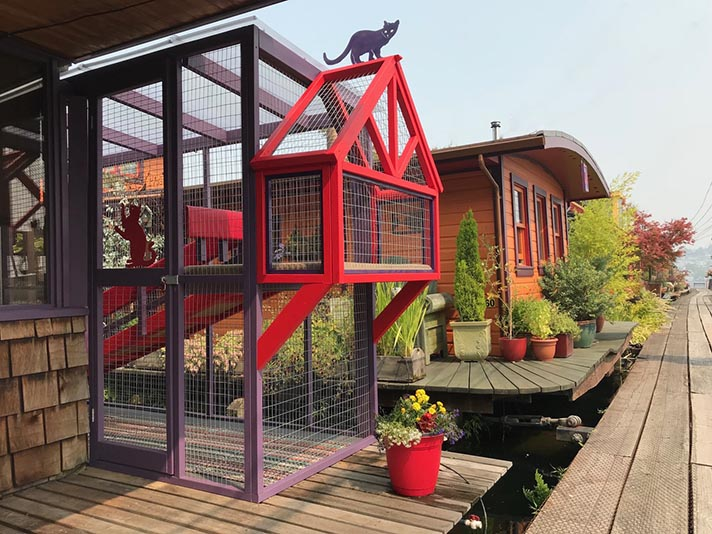 catio2 A Beginner's Guide to the Catio—Cat Patio—Trend