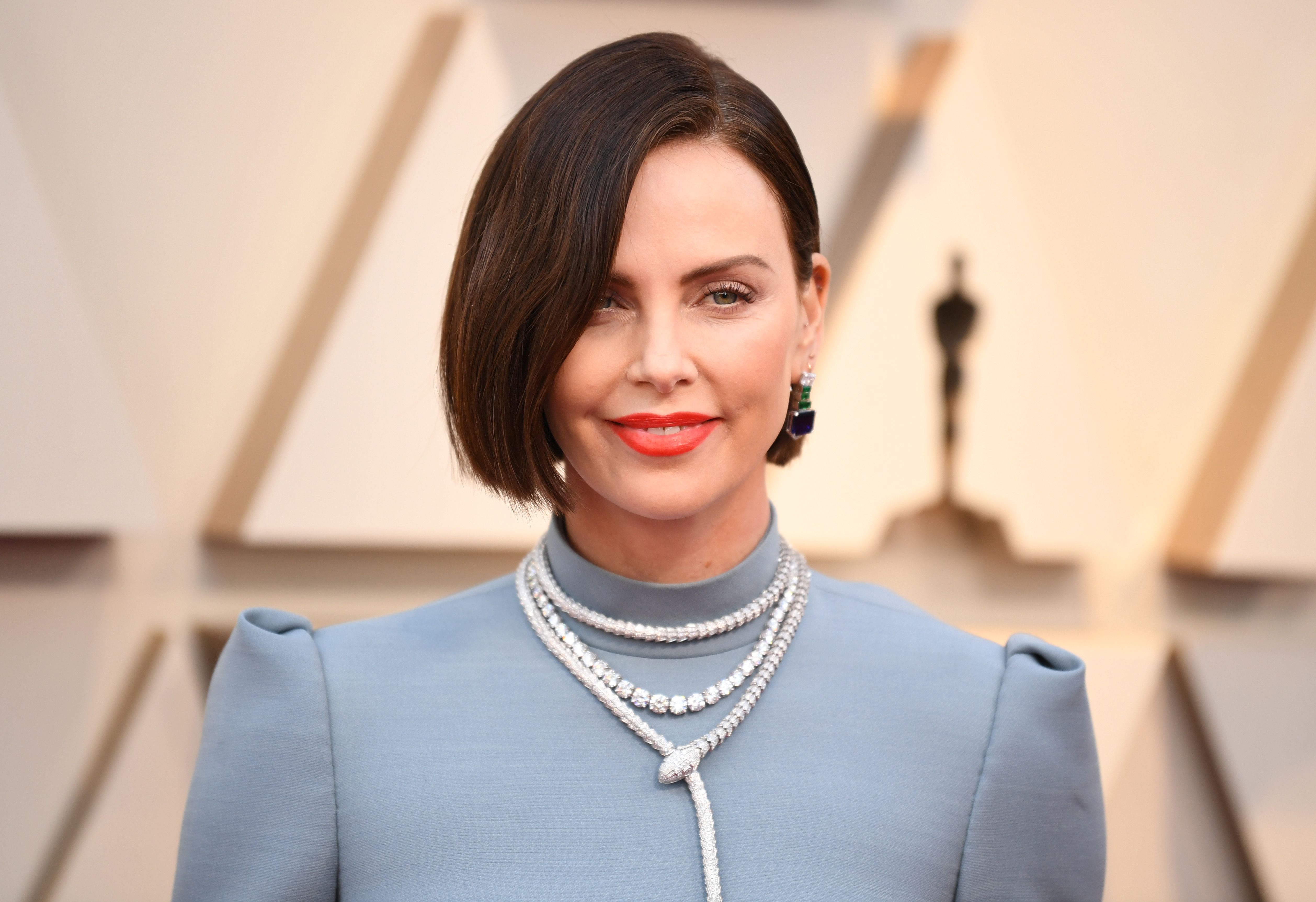 Charlize Theron Just Debuted Bold Baby Bangs