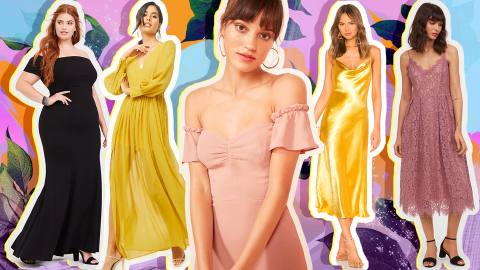 Foolproof Wedding Guest Dresses to Wear When the Dress Code Is Frustratingly Ambiguous   StyleCaster