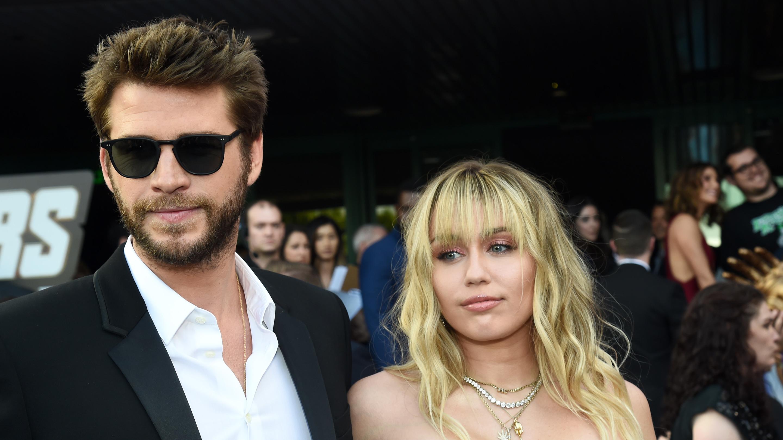 Miley Cyrus & Liam Hemsworth.